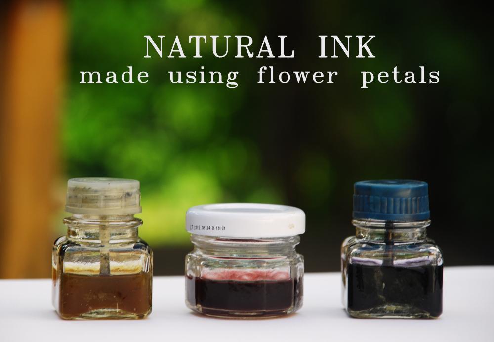 natural inks prepper days